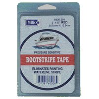 STRIPE TAPE 2in x 50ft - RED