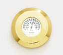 THERMOMETER CHART WEIGHT BRASS 20983