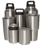 YETI STAINLESS STEEL RAMBLER SERIES