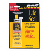 LIFE SEAL SEALANT TUBE BLACK