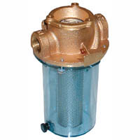 1/2in NPT RAW WATER STRAINER