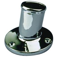 CHROME FLAGPOLE SOCKET 3/4 IN SD4922111