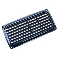 BLACK LOUVERED VENT 3 X 6-7/8IN SD337500