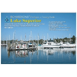 RICHARDSONS LAKE SUPERIOR CHARTBOOK + CRUISING GUIDE, 4th Ed.