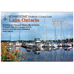 RICHARDSONS LAKE ONTARIO CHARTBOOK + CRUISING GUIDE, 6th Ed.
