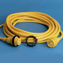 MARINCO 30 AMP 125V 50ft CORDSET YELLOW 50PCM2