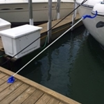 Dock Line Caddy - Dock Mount